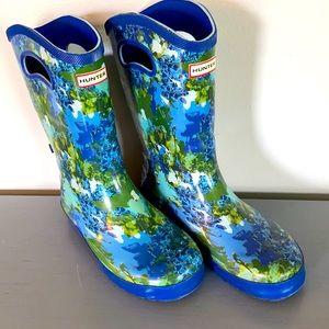 Girls Hunter for target rain boots sz 5